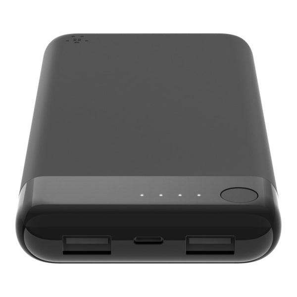 Belkin BOOSTCHARGE Power Bank 10K With Lightning Connector - Black