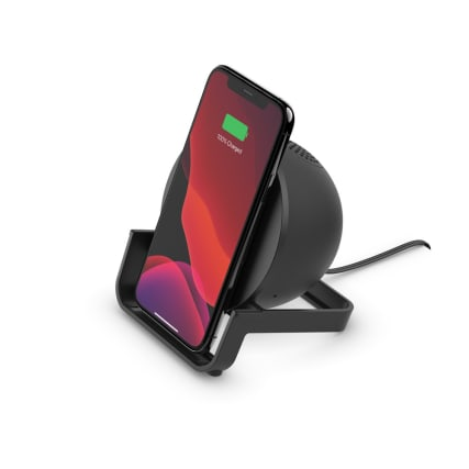 Belkin BOOSTCHARGE 10W Wireless Charging Stand and Speaker Universally compatible