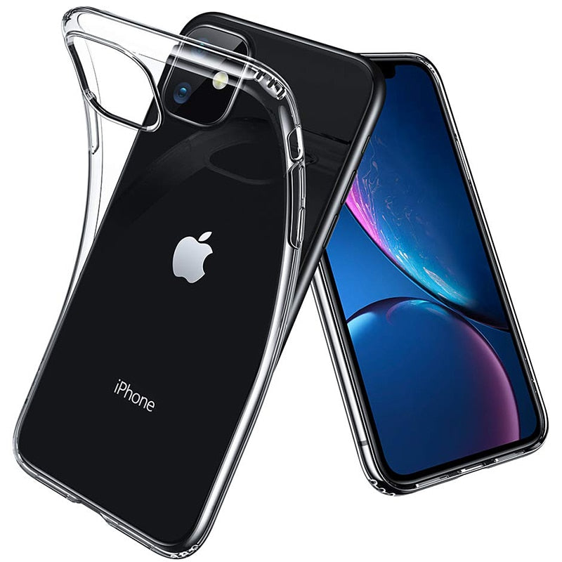 Soft Silicone Rubber Case - Clear for iPhone 11 Pro Max