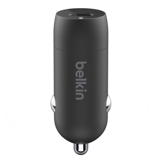 Belkin BoostUp 18W USB-C PD Car Charger and USB-C to Lightning Cable For Apple devices
