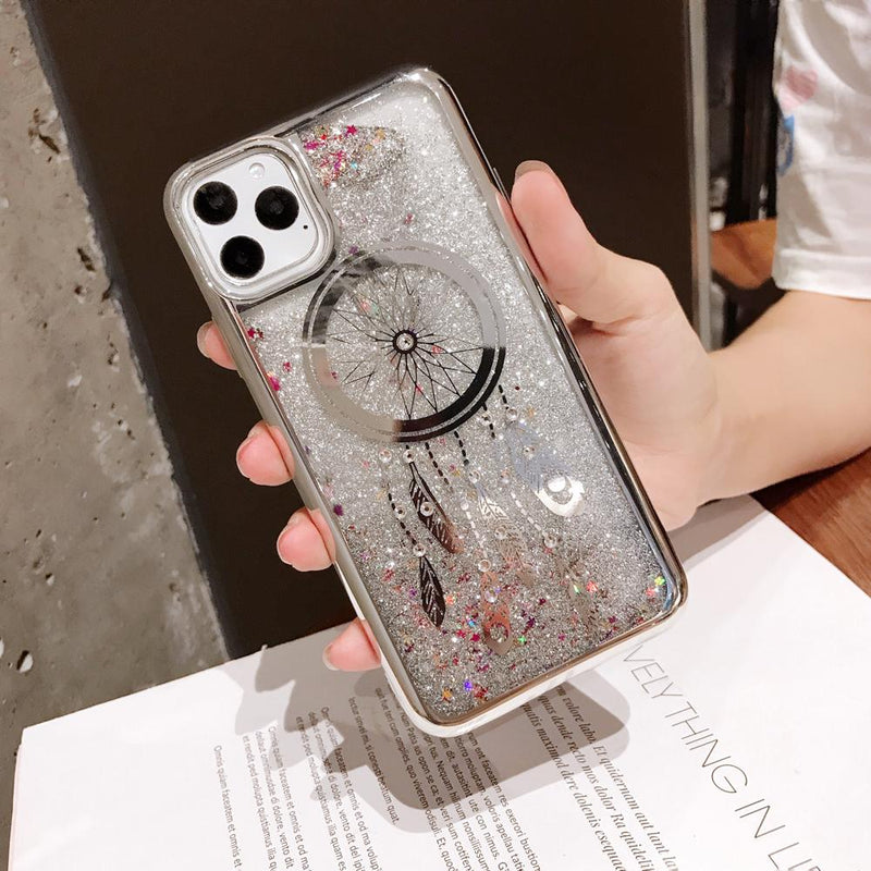 Laser sandy case (dream catch) for iPhone Xs Max