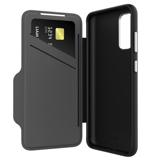 EFM Monaco Wallet D3O Case Armour with 5G Signal Plus For Samsung Galaxy S20
