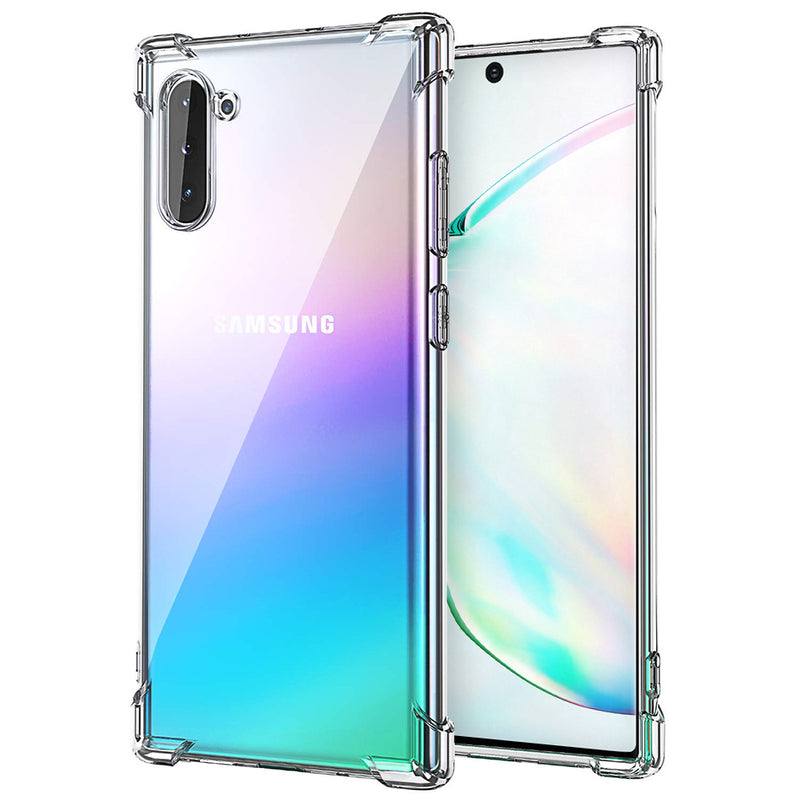 BLACKTECH Hard Protective Case - Clear for Samsung Galaxy Note 10
