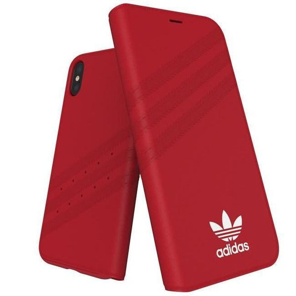 Adidas (Adidas) Clover Classic PU Leather Flip for iPhone X/Xs