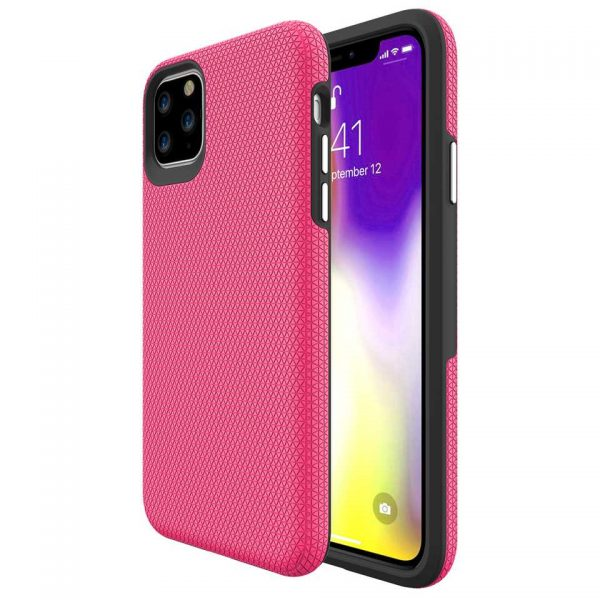Triangle series thin color back case for iPhone 11 Pro