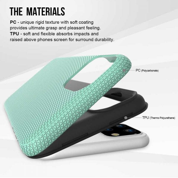 Triangle series thin color back case for iPhone 11 Pro Max