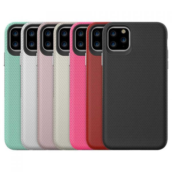 Heavy Duty Anti Scratch Triangle Case Cover for iPhone 11