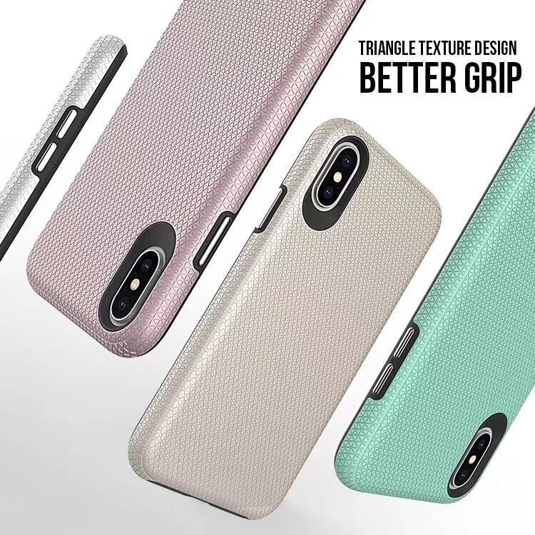 Triangle series thin color back case for Samsung Galaxy S10