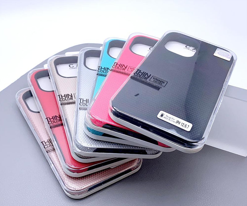 Triangle series thin color back case for iPhone Xs Max