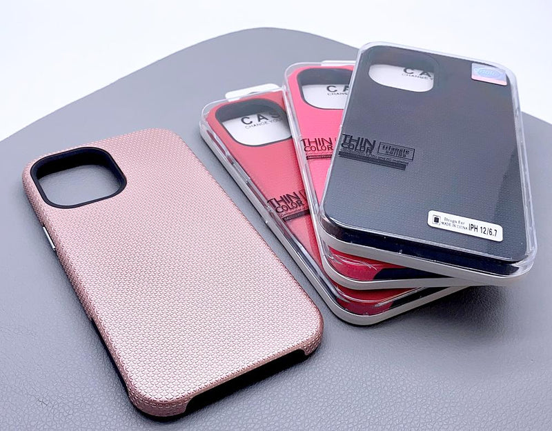 Triangle series thin color back case for iPhone X/Xs