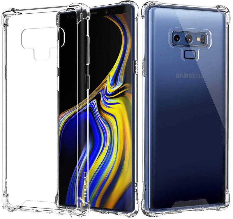 BLACKTECH Hard Protective Case - Clear for Samsung Galaxy Note 9