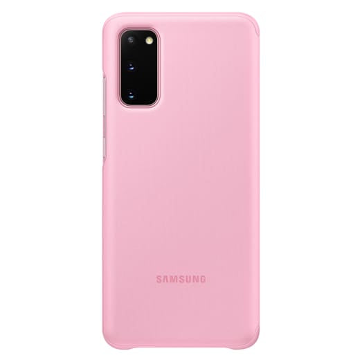 Genuine Samsung Clear View Cover For Samsung Galaxy S20