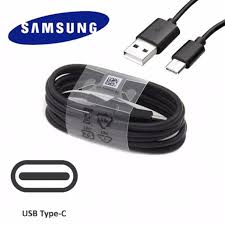 Genuine Samsung USB Type C Charging Data Cable - Black