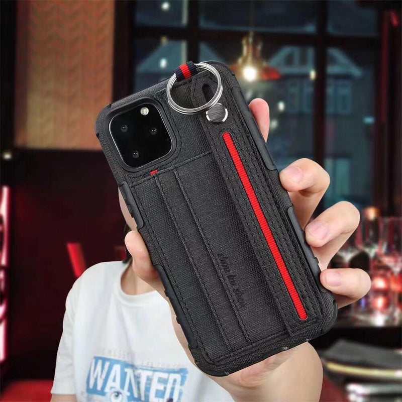 Pocket standing case for iPhone 12 mini 5.4inch