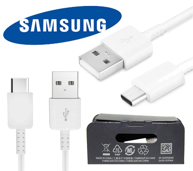 Genuine Samsung USB Type C Charging Data Cable - White