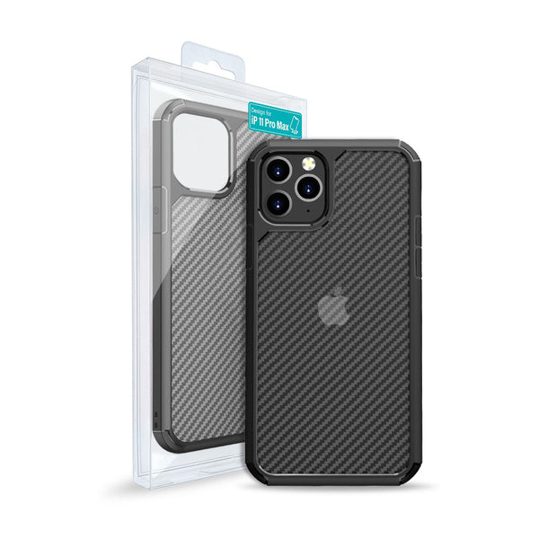 Carbon Fiber Hard Shield Case Cover for iPhone XR/11