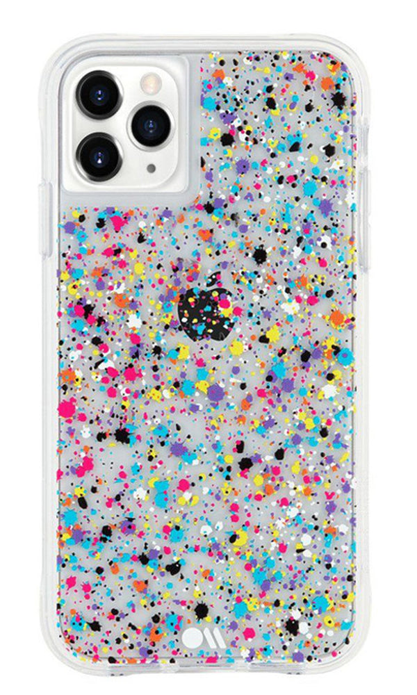 Case-Mate Tough Spray Paint Case For iPhone XR|11 - Rainbow Flecks
