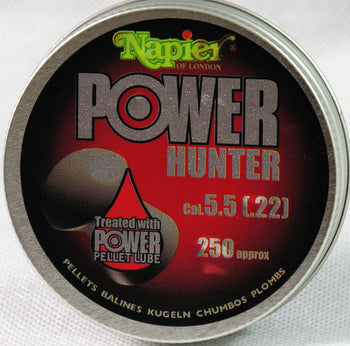 Power Pellets .22 Hunter (Tin of 250 Pellets).
