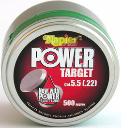 Power Pellets .22 Target (Tin of 500 Pellets)