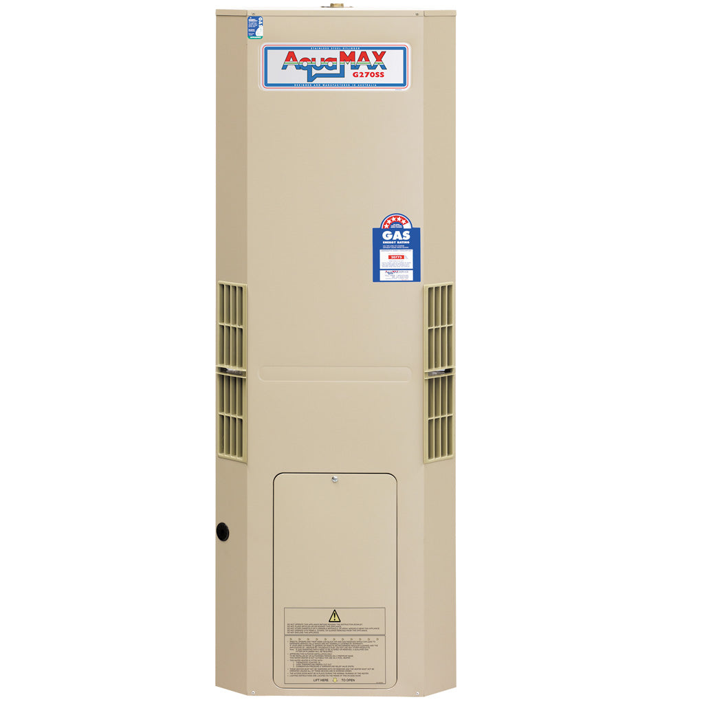 Aquamax G270SS 130L Gas Storage Water Heater