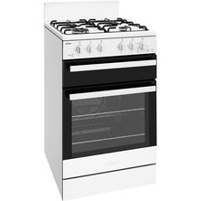 Load image into Gallery viewer, Chef 54cm LPG/NG Gas Freestanding Cooker Supplied and Installed - CFG503WB