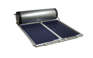 RINNAI CLOSECOUPLED 330L STAINLESS STEEL SOLAR - Twin Excelsior Panel
