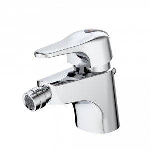 Caroma Nordic Bidette Mixer - Bidette Std brassware custom fitted for overflow