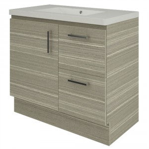 Raymor Hampton 900mm Vanity 1 Door 2 Drawers