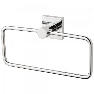 Phoenix Radii Hand Towel Holder Square Plate