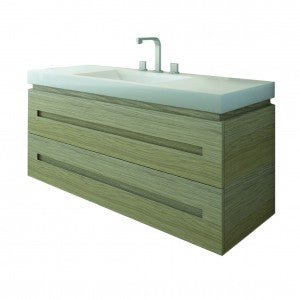 Marquis Yarra 12 1200mm Ravine wall mounted cabinet with Monaco Grande moulded top.