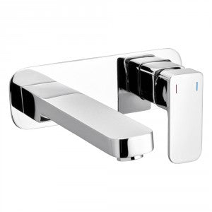 Raymor SIGMA WALL BASIN/BATH MIXER 220MM SPOUT