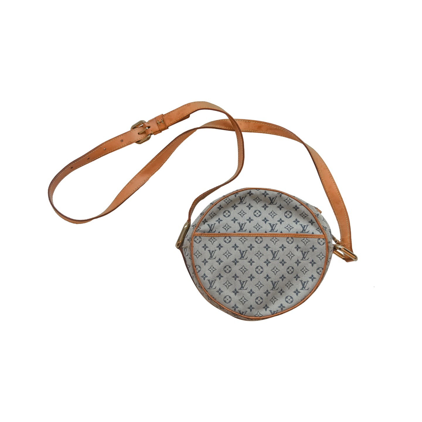 Louis Vuitton Round Canvas Bag