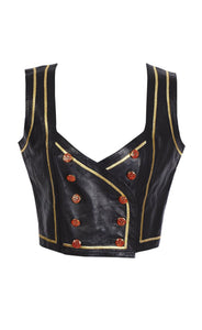 Emanuel Ungaro Leather Corset