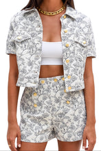 Load image into Gallery viewer, Moschino Short and Jacket Set