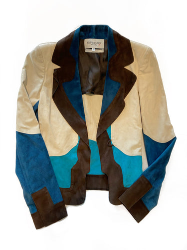 Colorblock Yves Saint Laurent Jacket