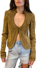Load image into Gallery viewer, Gucci Bustier Suede Jacket