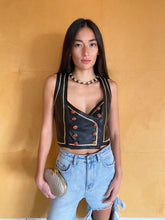 Load image into Gallery viewer, Emanuel Ungaro Leather Corset