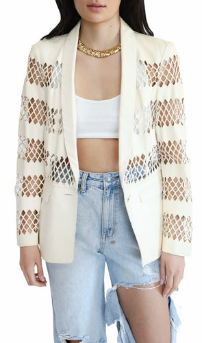 Cavalli Cut Out Blazer