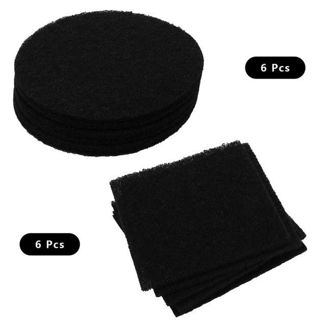 12 Pack Activated Carbon Replacement Filters