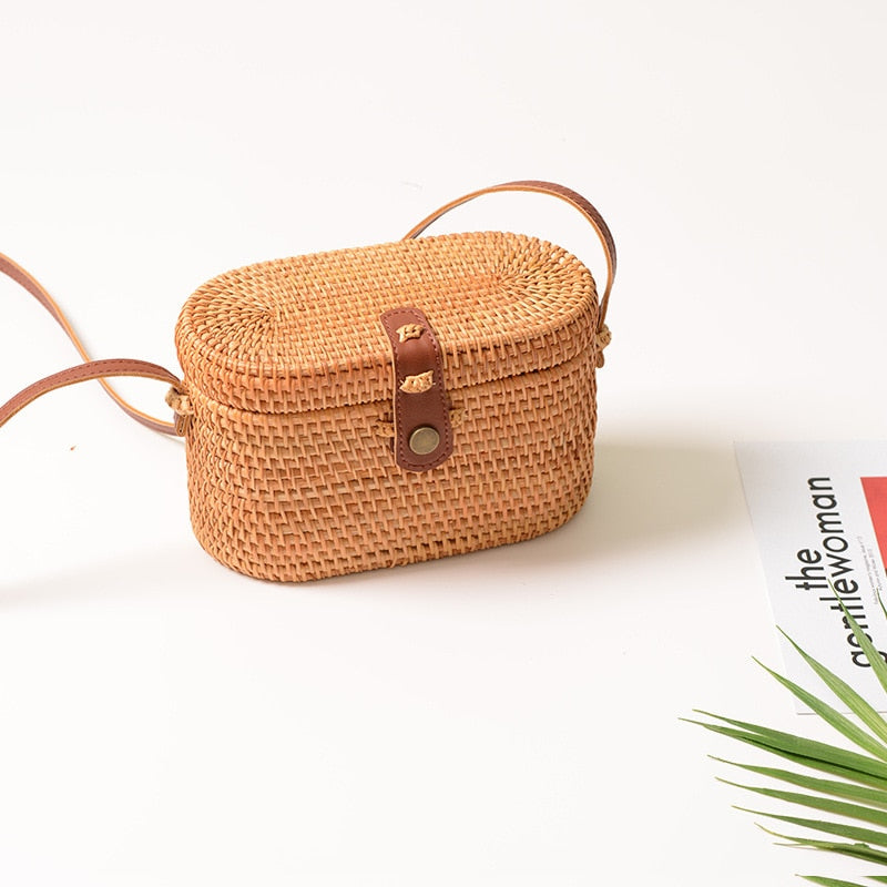 Hand-Made Basket Bag