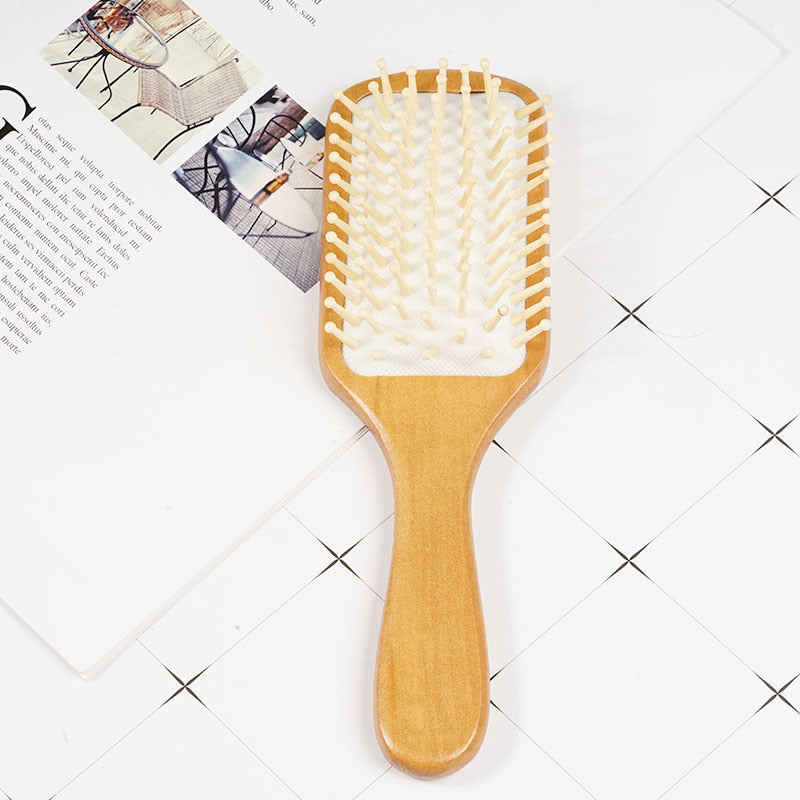 Wooden Antistatic Hair Comb
