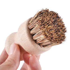 Handheld Wooden Brush