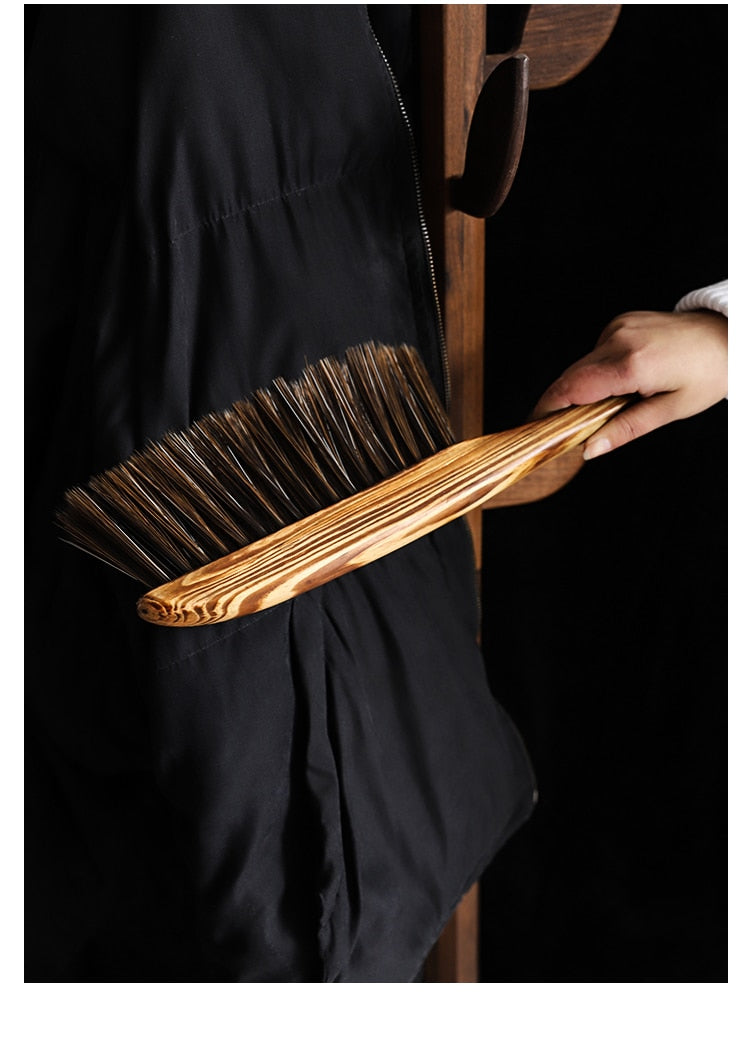 Wooden Dust Brush