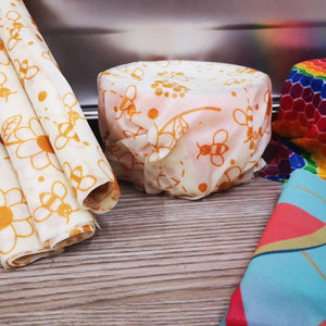 Beeswax Wrap & Organic Cotton Mesh Bag