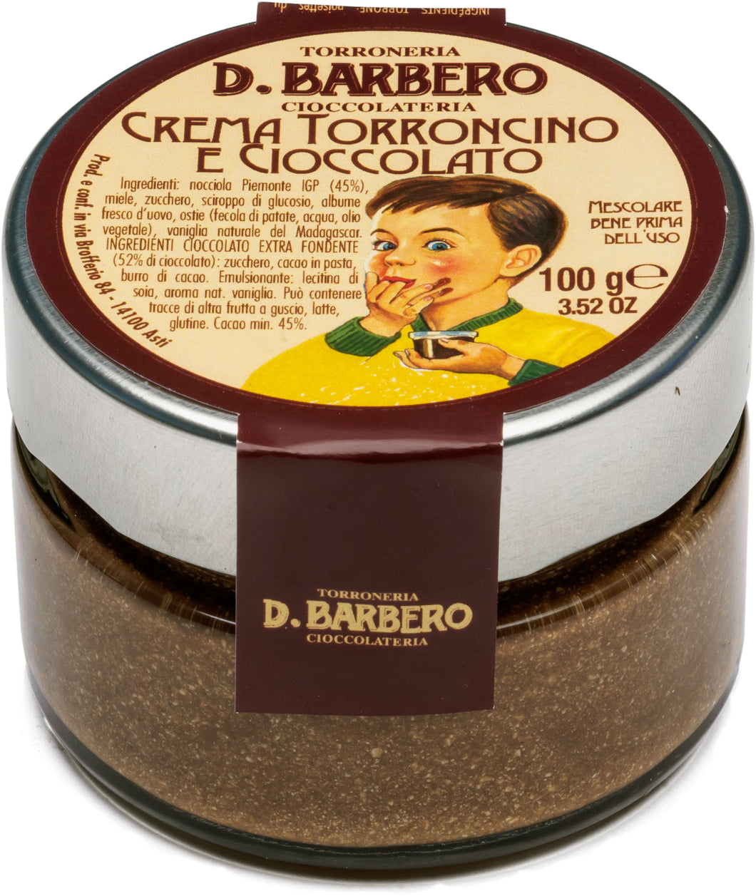 TORRONE NOUGAT SPREAD WITH CHOCOLATE