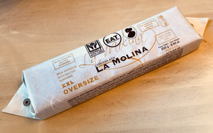 XXL MILK GIANDUJA BAR WITH SALTED ALMONDS