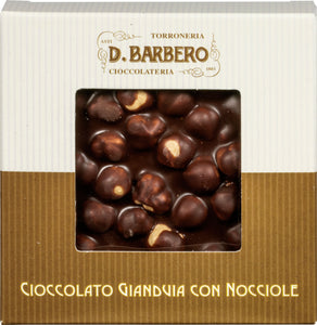 """NOCCIOLATO"" CHOCOLATE BAR WITH WHOLE PIEDMONT HAZELNUTS"