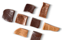 "Load image into Gallery viewer, ""FRINGES"" CHOCOLATES WITH CRUNCHY SALT AND SPICES JAR"
