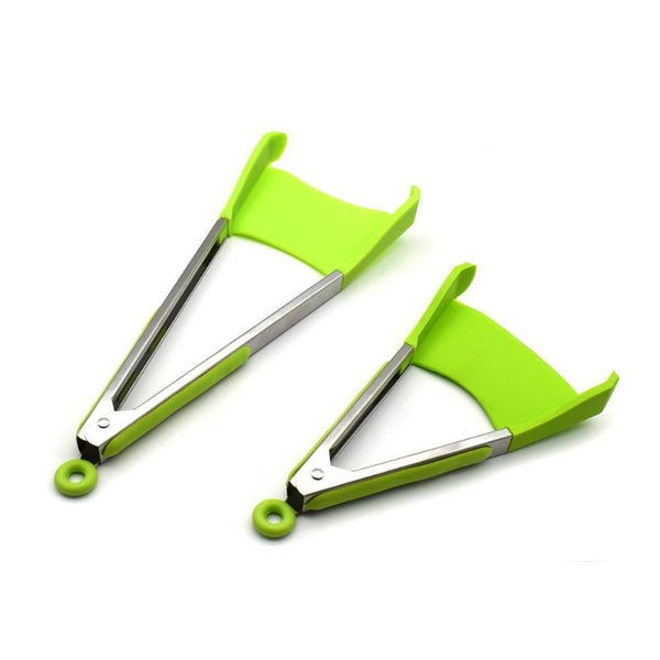 Non-Stick Spatula And Tongs