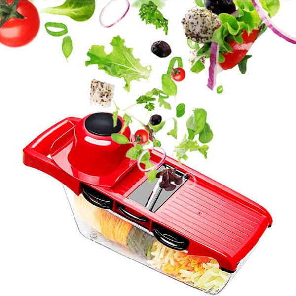 Multi-Functional Vegetable And Fruit Cutter